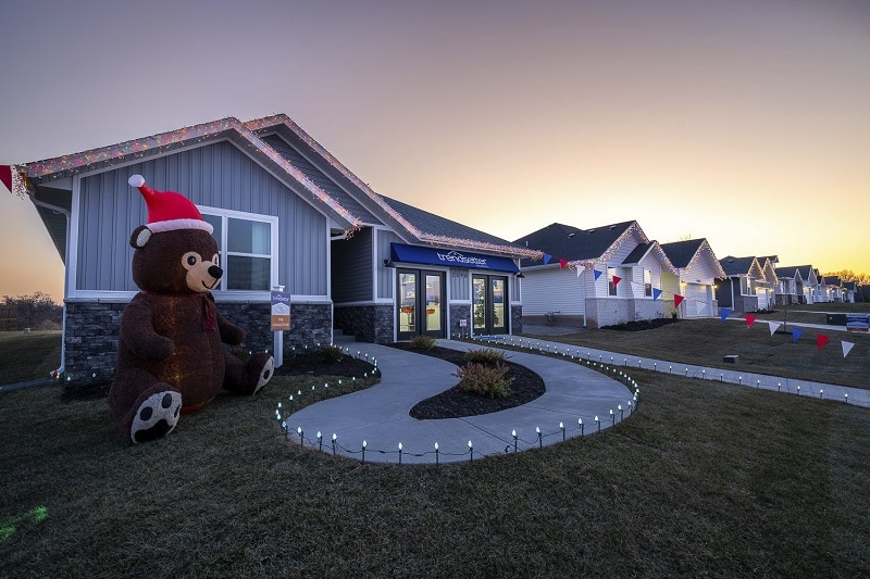 Trendsetter Homes Presents a Winter Wonderland at Twin Lakes